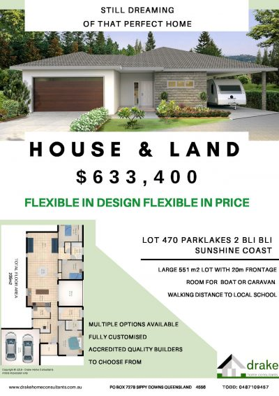HOUSE & LAND package LOT 470