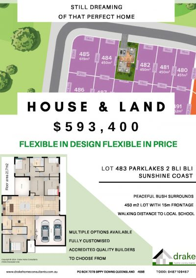 HOUSE & LAND package LOT 483